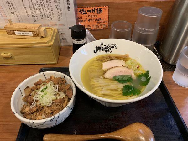「塩キラメキ」@らーめんstyle Junk Storyの写真