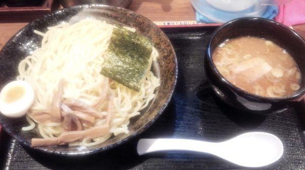 「醤油つけ麺 大盛」@つけめん てつ蔵 和光市店の写真
