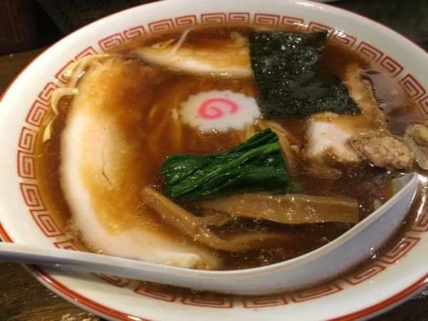 「らぁめん」@新潟長岡らぁめん 安ざわ食堂の写真
