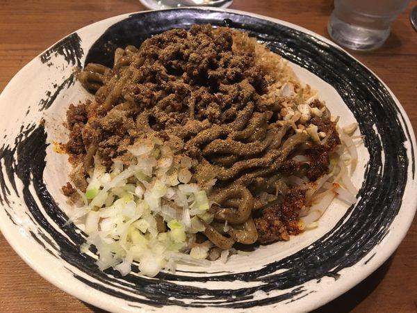 「汁なし坦々麺」@つけめんTETSU 横浜ランドマークプラザ店の写真