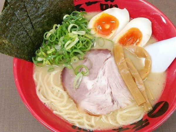「味玉のりラーメン(屋台の味)」@天下一品 錦糸町店の写真