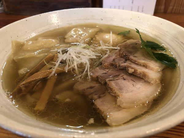 「特製塩ラーメン」@純手打ち 麺と未来の写真