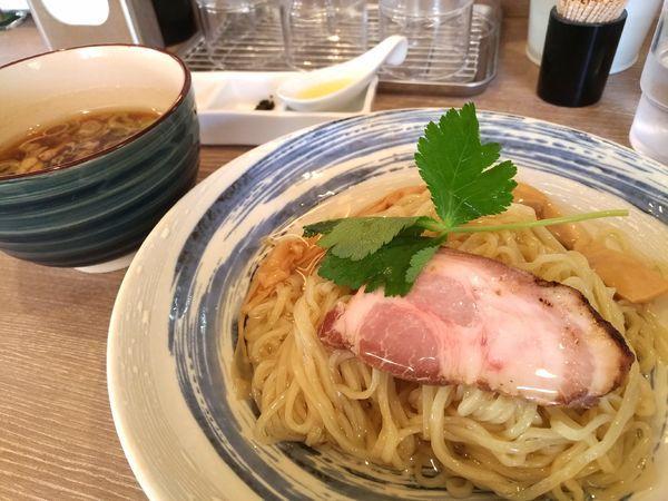 「昆布水つけ麺」@中華そば 和渦 TOKYOの写真
