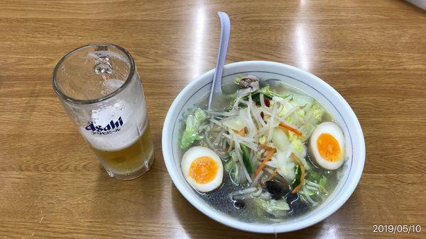 「タンメン麺硬め その他」@福しん 北千住東口店の写真