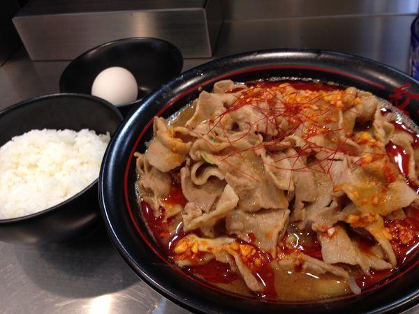 「紅らーめん+バラ肉ダブル」@麺創研 紅の写真
