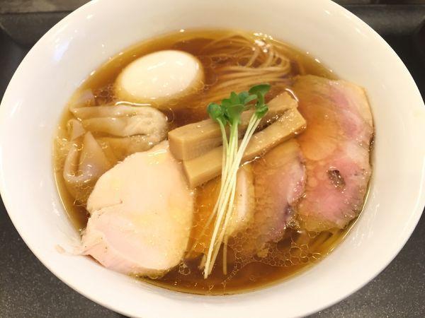「特製鶏そば」@らぁ麺 やまぐちの写真