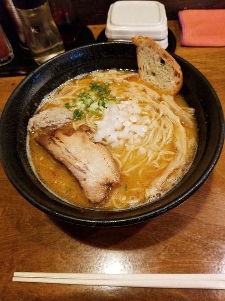 「鶏そば 醤油 麺大盛」@はりけんラーメンの写真