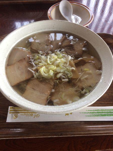 「やまじおチャーシュー麺」@奥裏磐梯らぁめんやの写真