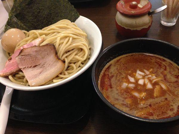「特製つけ麺」@自家製麺ばくばくの写真
