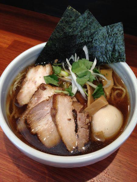 「特製江戸醤油ら〜麺 950円」@麺屋 江武里の写真