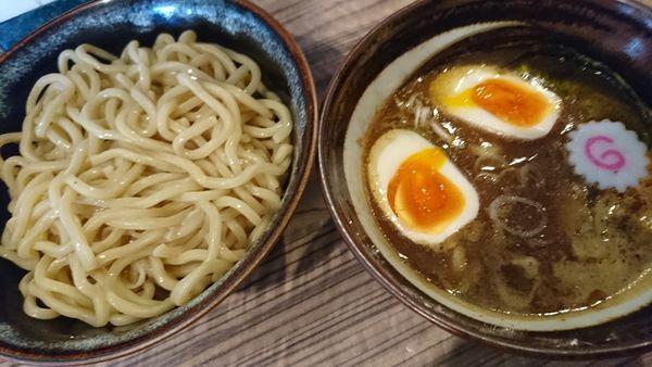 「つけ麺+味玉(850円)」@麺屋 英の写真