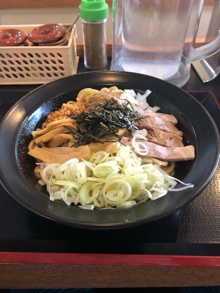 「油そば並 680円」@麺屋 松尾の写真