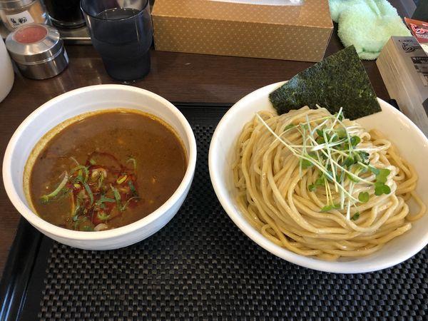 「カレーつけ麺 大盛 880円」@ブラウン製麺所の写真