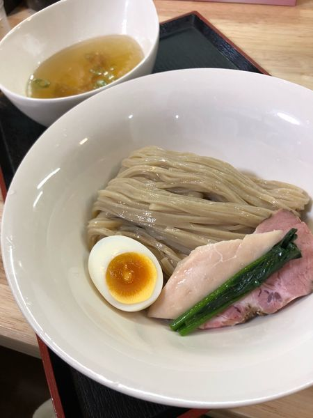 「つけ麺淡麗ノ塩」@ガチ麺道場の写真