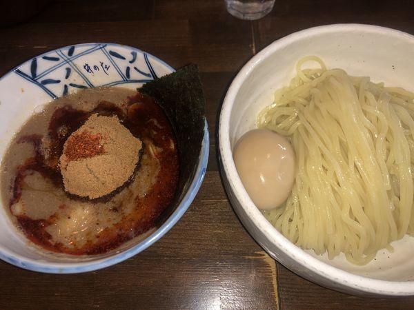 「辛辛魚味玉つけめん・中盛り(1020円)」@麺処 井の庄の写真