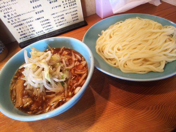 「野菜入り800円お酢抜き」@つけそば屋 麺楽の写真