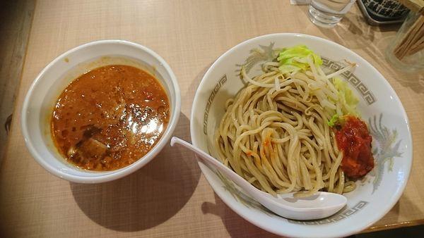 「とまとつけ麺」@らーめん カッパハウスの写真