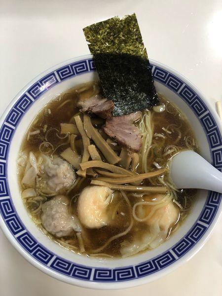「ワンタン麺ミックス1190円」@支那そば いしはらの写真