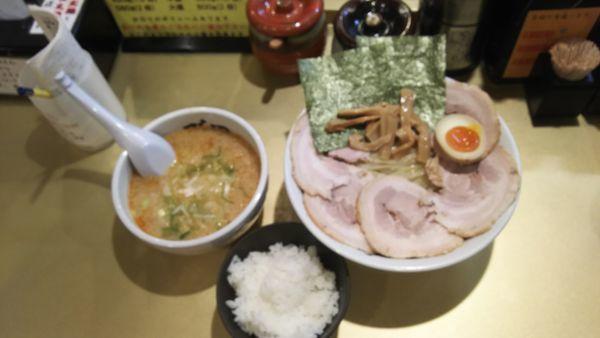 「つけ麺 大地(みそベース)」@超ごってり麺 ごっつ 新小岩店の写真