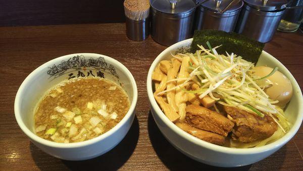 「魚介豚骨全部入りつけ麺」@二九八家 いわせの写真