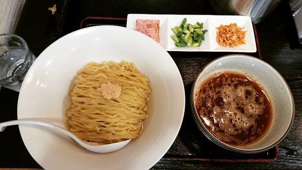 「端麗 烏賊煮干つけ麺 850円」@煮干しらーめん専門店 麺屋 晴の写真
