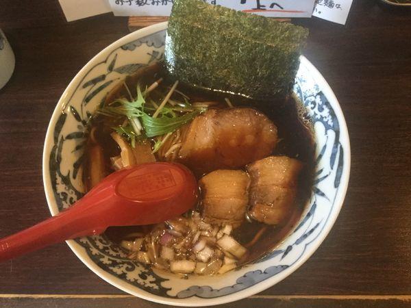「タマリ醤油そば(¥780)」@中華そば 東京ぐれっちの写真