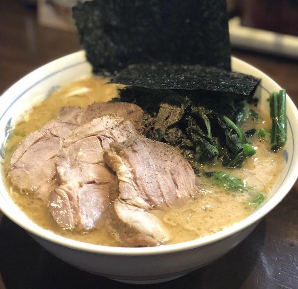 「チャーシュー麺大盛」@横浜家系ラーメン 中島家の写真