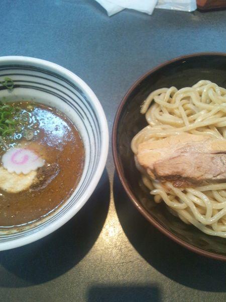 「半熟味玉つけ麺」@つけ麺 天下の写真