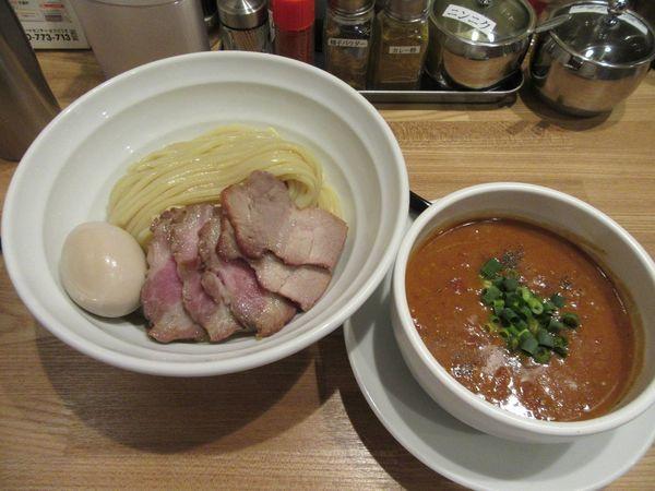 「特製トマト味噌つけめん(1000円)」@つけめん・まぜそば むじゃきの写真