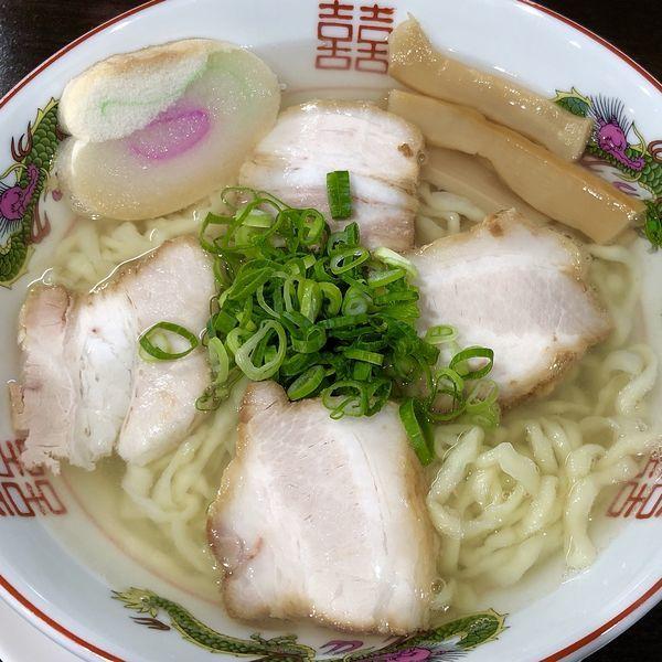 「中華そば」@自家製麺中華そば 番家の写真