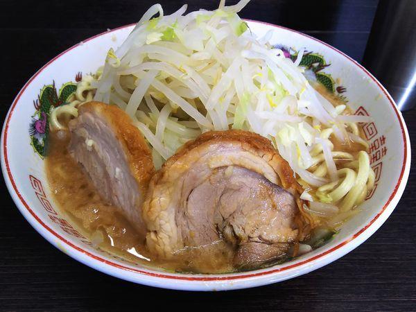 「小ラーメン 麺半分(ニンニク少なめ)¥750」@ラーメン二郎 川越店の写真