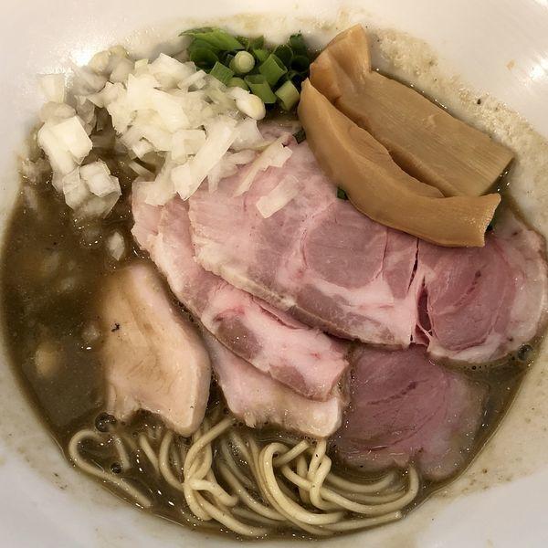 「【限定】濃厚煮干ラーメン」@つけ麺 和の写真
