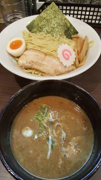 「濃厚魚介つけ麺」@豚骨ラーメン ぜろや 稲毛海岸店の写真