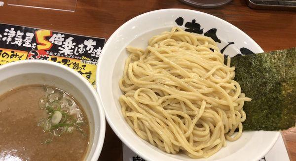 「極つけ麺 大盛」@つけ麺 津気屋 川口店の写真