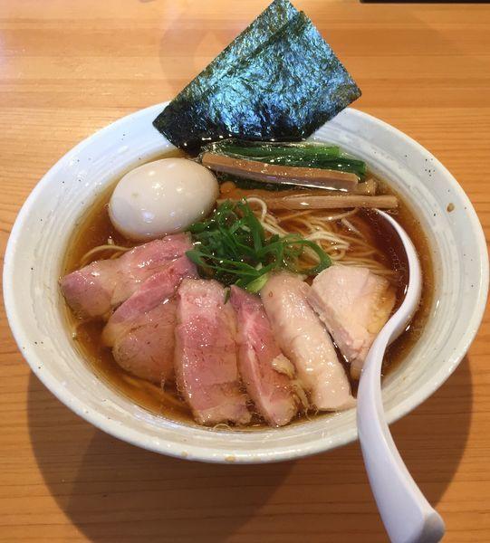 「特製らぁ麺(醤油)」@麺屋 さくら井の写真