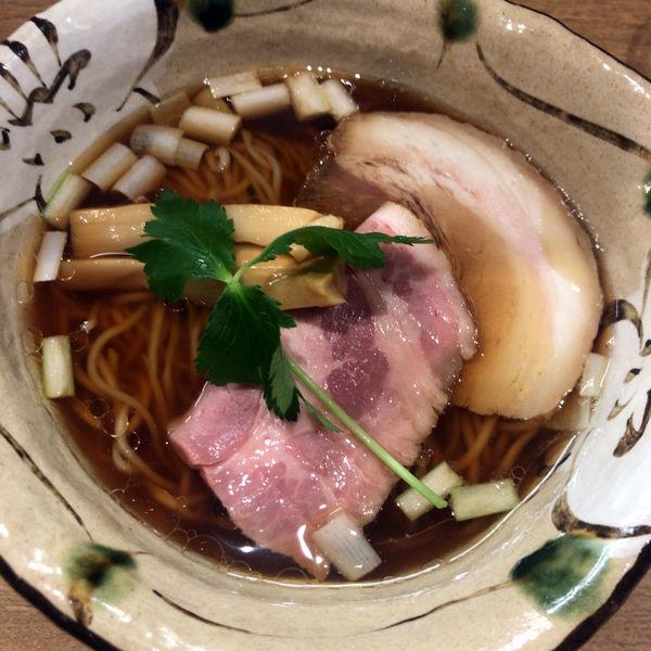 「生正油 780円」@麺屋 椿丸の写真
