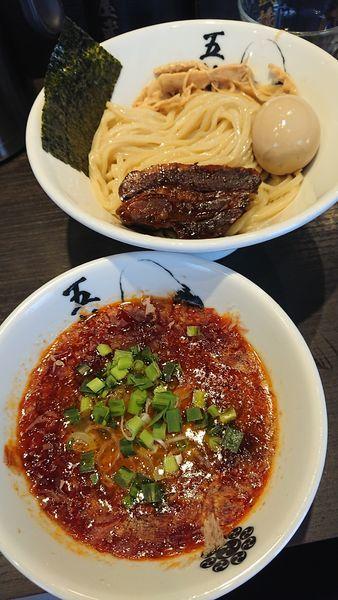 「辛つけ麺」@麺屋武蔵 五輪洞の写真
