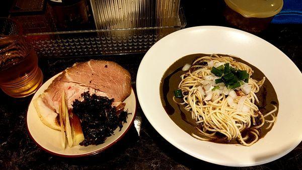 「閻魔(えんま)10食限定」@中華SOBA にぼ乃詩の写真