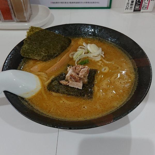 「かまくらカレーラーメン  @500円」@北のとんこつ 麺 かまくらの写真