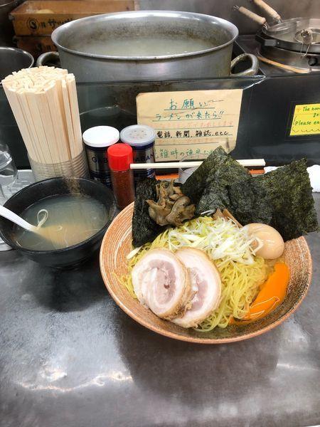 「平貝出汁のつけそば大盛り」@覆麺 智の写真