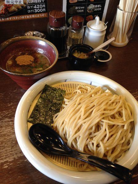 「つけ麺 大盛り 800円」@中華そば うづまきの写真
