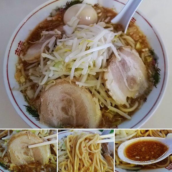 「醤油旨辛ラーメン(2/4/6) 760円」@麺家ぶんすけの写真
