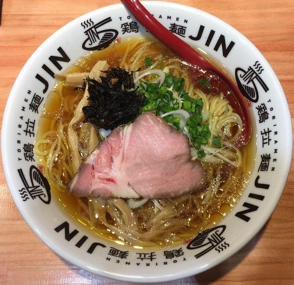「鶏中華」@鶏拉麺JINの写真