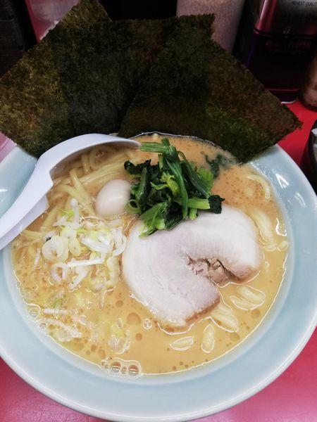 「ラーメン豚骨味噌」@横浜家系ラーメン 立川 壱七家の写真