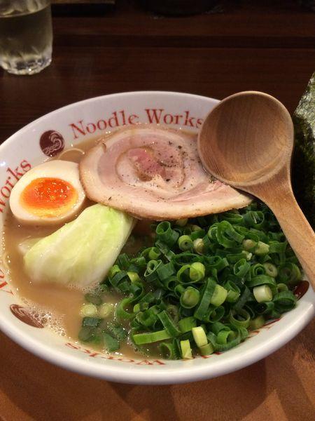 「ラーメン+ネギ」@Noodle Works -BALI-の写真