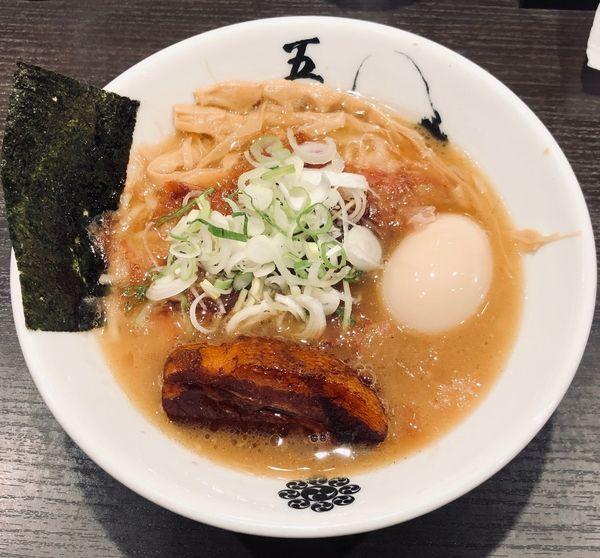 「味玉黒角煮ら〜麺(¥1000)」@麺屋武蔵 五輪洞の写真