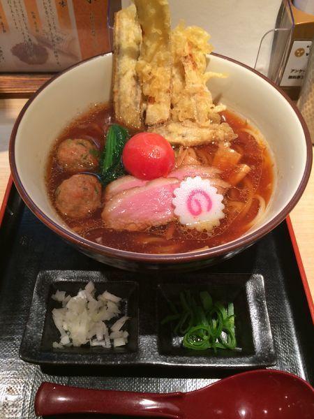 「芳醇鴨そば極み(細麺)1300円」@銀座 鴨そば 九代目 けいすけの写真