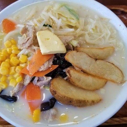 「北海塩ラーメン ¥824」@桂林の写真