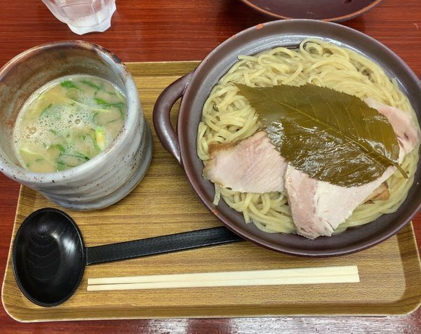 「桜鶏白湯」@創作麺処 スタ★アトの写真