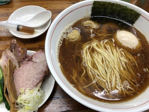 「特製煮干」@らぁめん 夢の写真